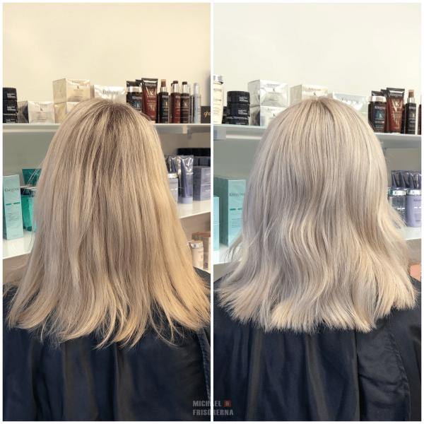 blond highlights olaplex