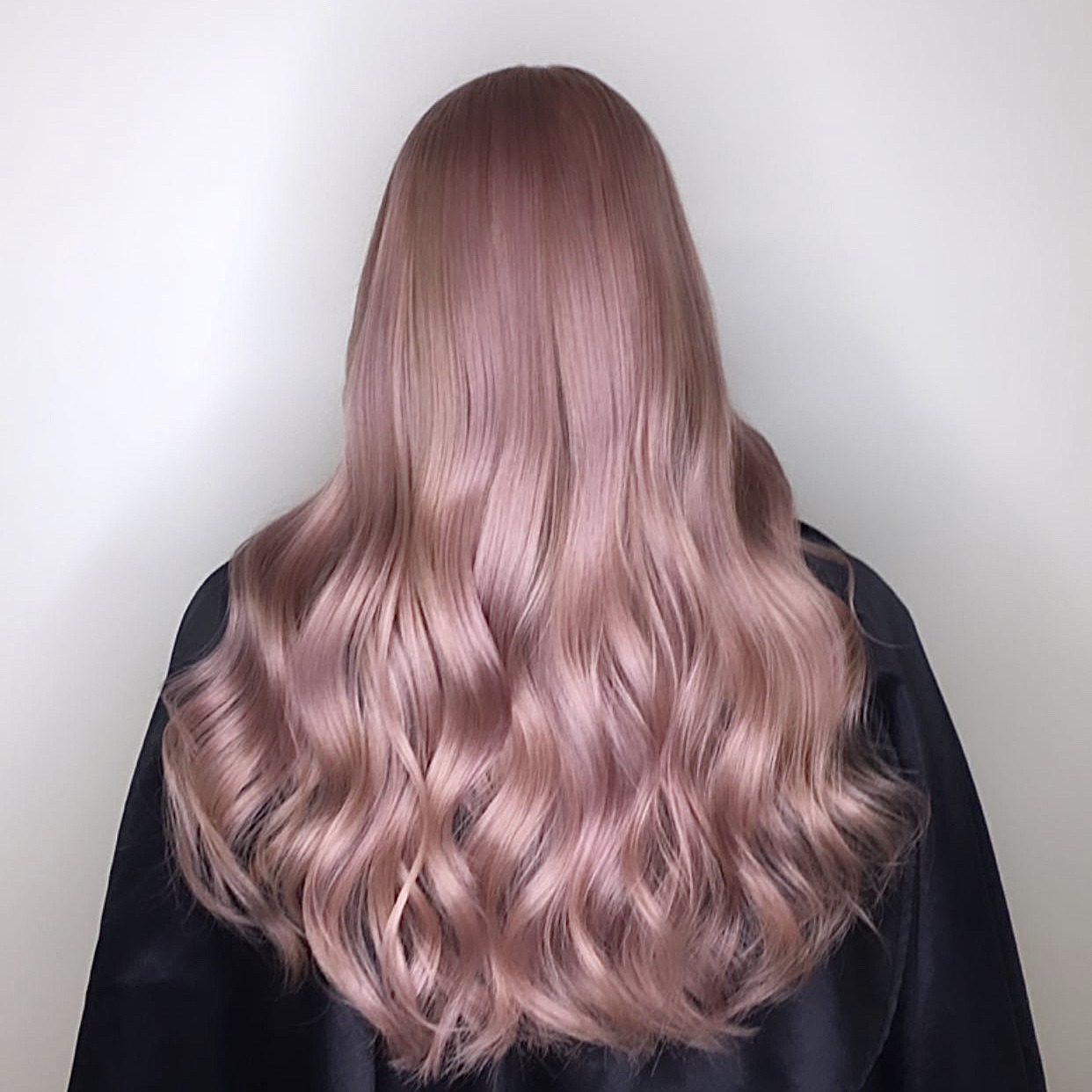 pink hair ombre balayage