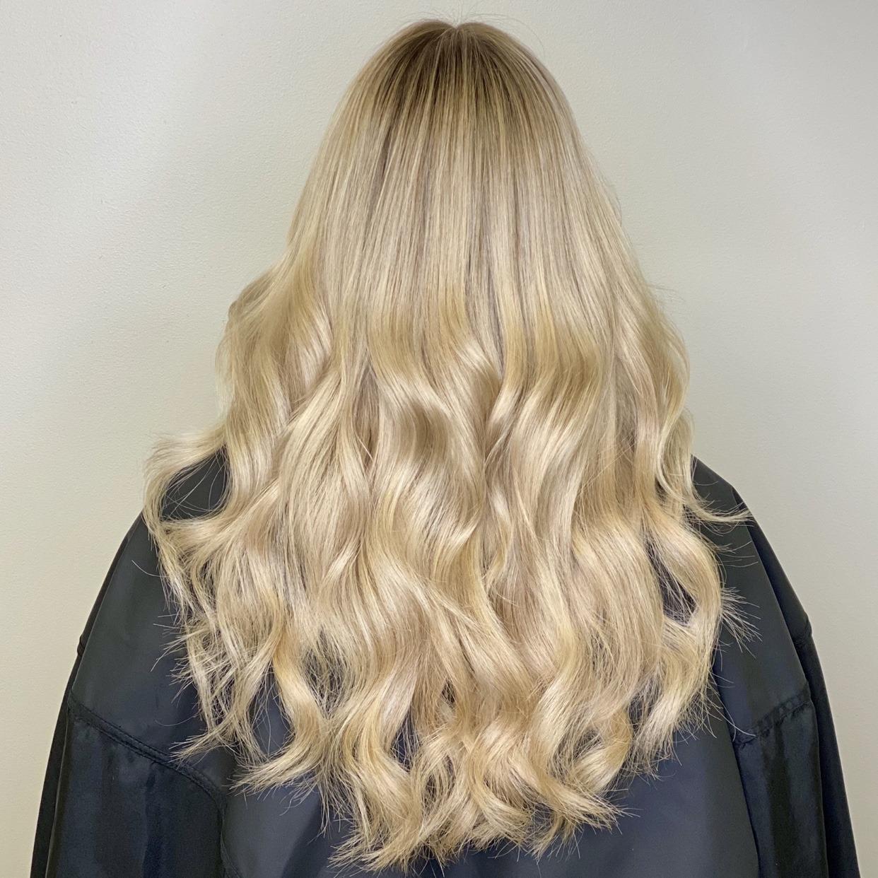 blond makeover