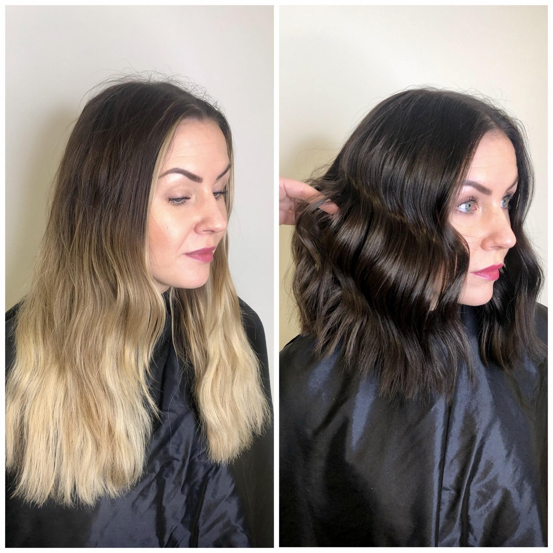 Makeover hair olaplex
