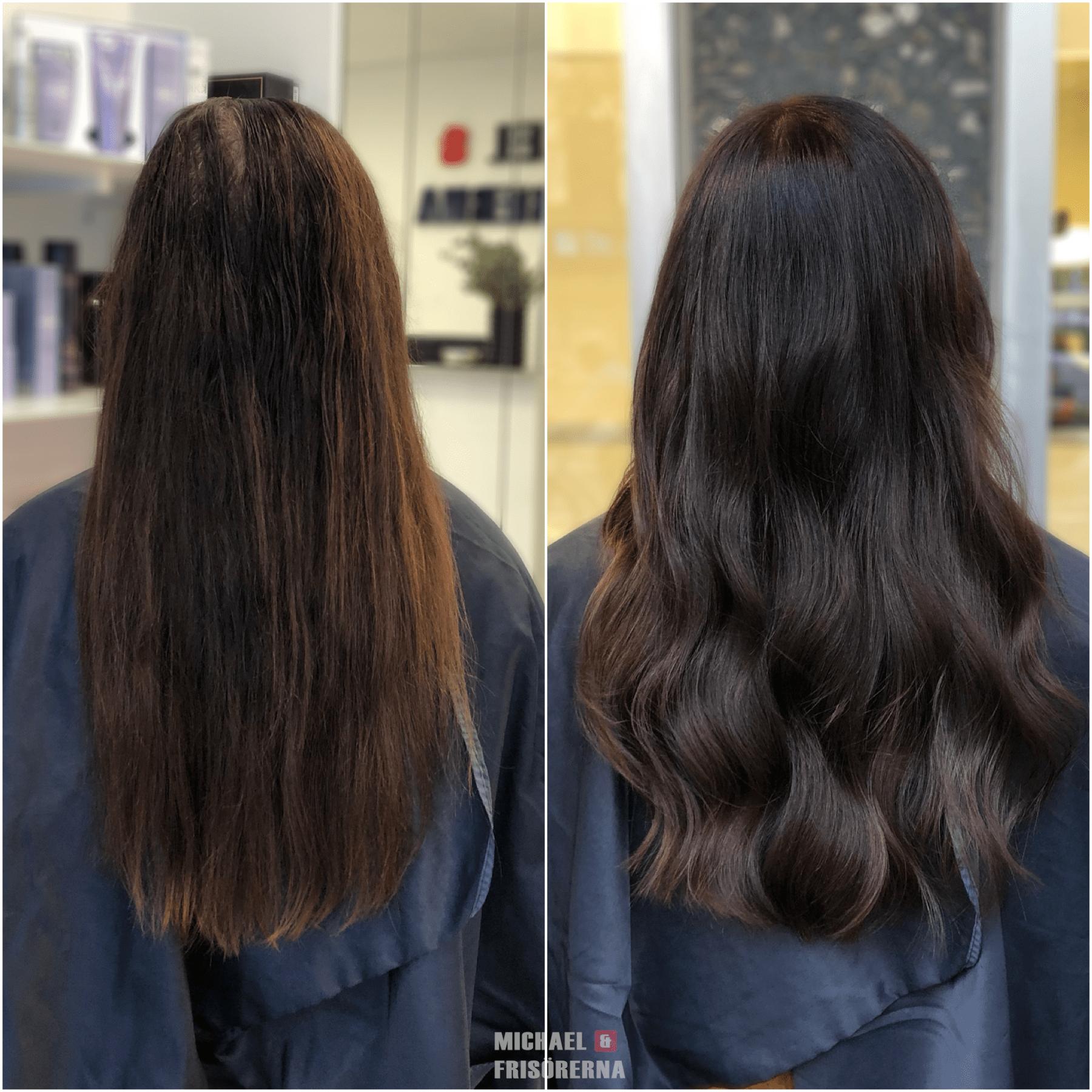 brun hårfärg ghd haircolor